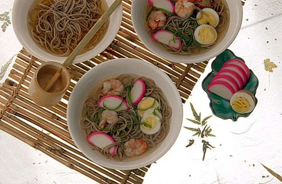 Traditional Soba Noodle soup Photo: John O'Hara, The Chronicle