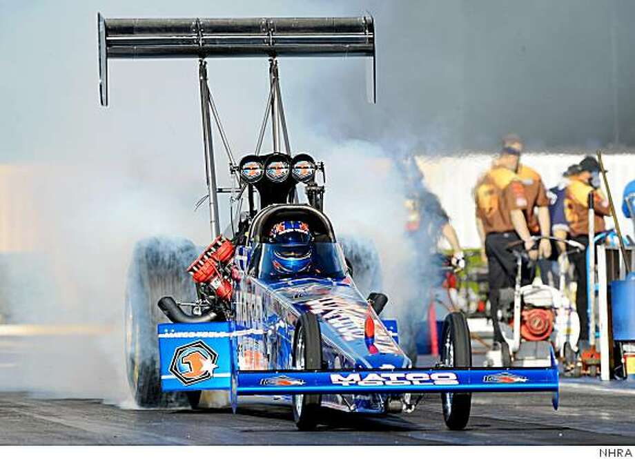Use this!  National Hot Rod Association handout photo. Photo: NHRA
