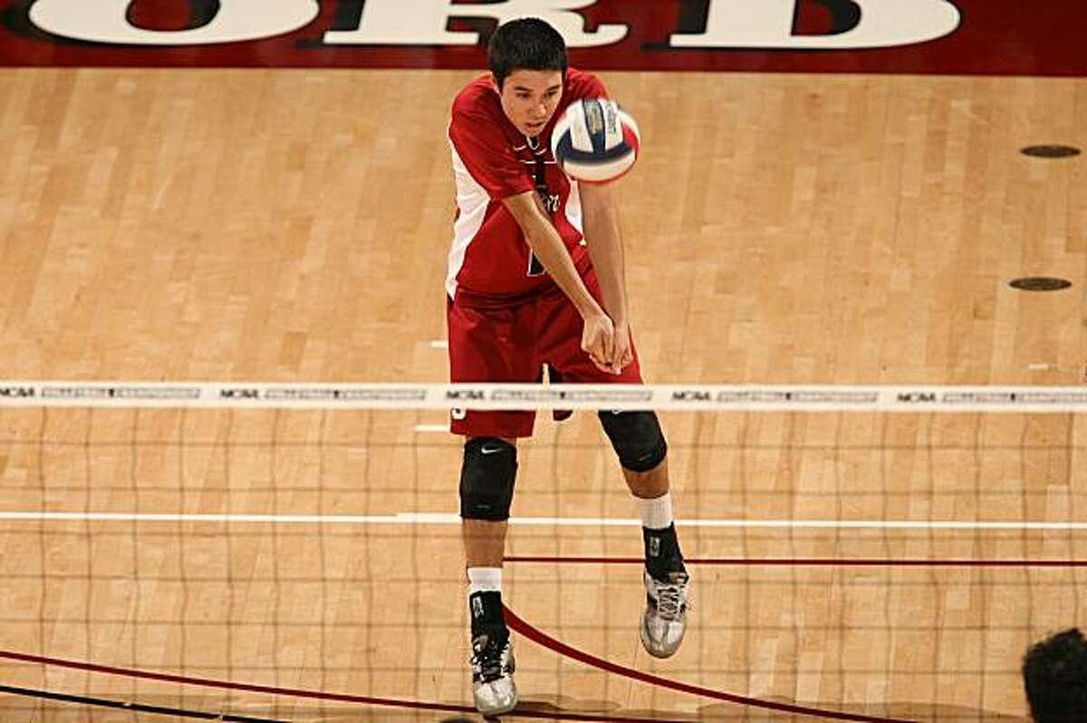 Erik Shoji, Stanford volleyball, 2009.