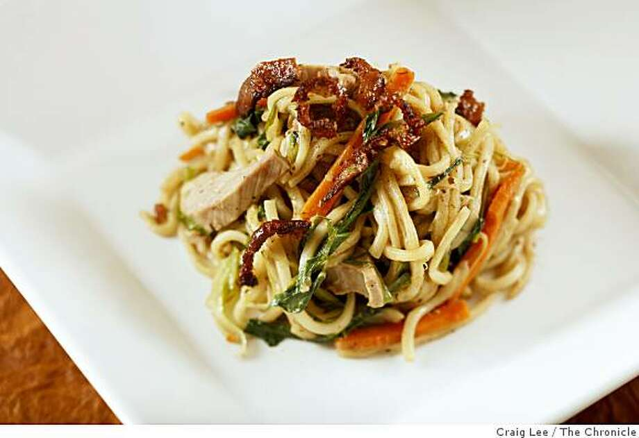 Roast Duck Noodles in San Francisco, Calif., on July 17, 2008. Food styled by Cindy Lee.Photo by Craig Lee / The Chronicle Photo: Craig Lee, The Chronicle