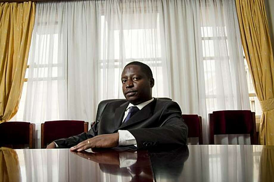 David Bahati, a Ugandan lawmaker, in a recently undated photo. Bahati introduced the Anti-Homosexuality Bill of 2009, drawing criticism from the West. Human rights advocates in Uganda say a conference by the three American evangelical Christians helped set the stage for a bill to impose a death sentence on homosexuality. (Marc Hofer/The New York Times) Photo: Marc Hofer, New York Times