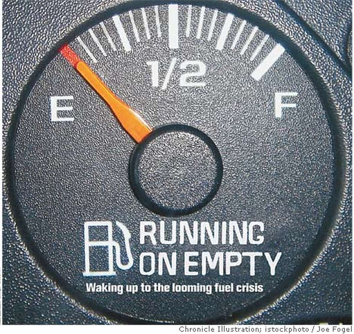 Running on Empty: Waking up to the looming fuel crisis. Chronicle Illustration