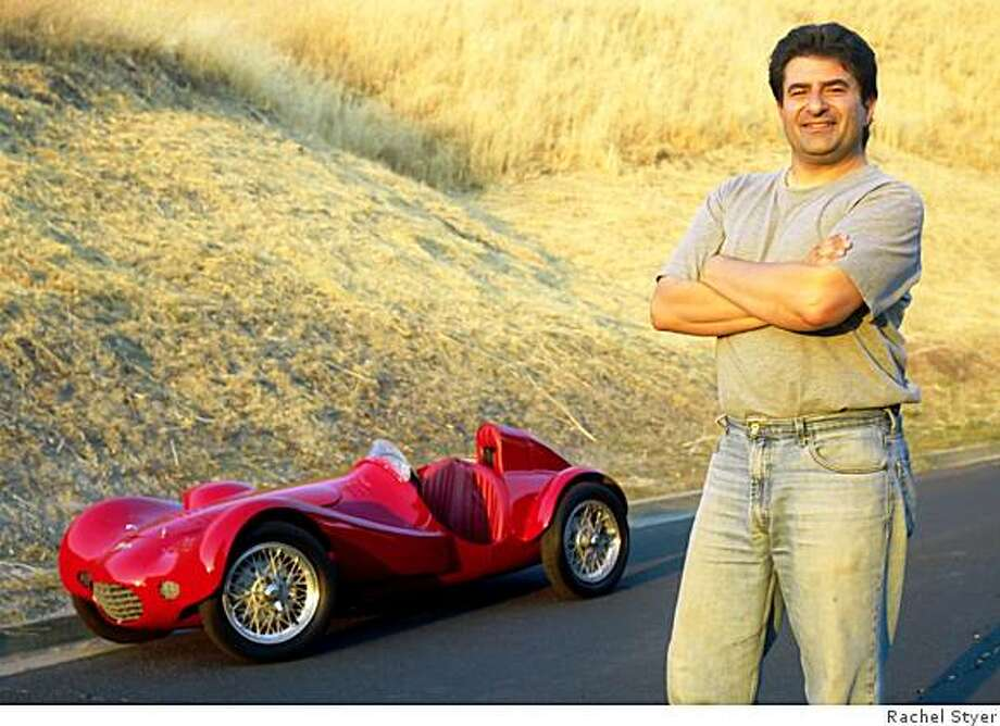 Raffi Minasian fondly recalls his first drive in the Italian-made speedster, back when his legs were just long enough to hit the pedals perfectly, ?Those were great days ? just dad and me driving.? Photo: Rachel Styer