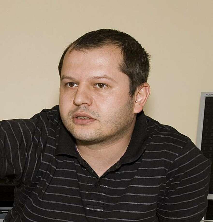 "Corneliu Porumboiu, director of ""Police, Adjective."" Photo: Marius Panduru, IFC Films"