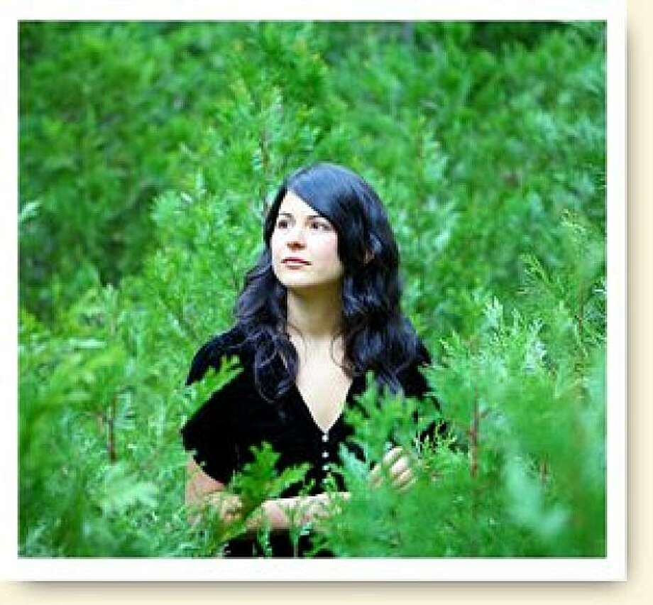 Mariee Sioux brings her tales of spirits and nature to the Hemlock on Saturday. Photo: Grass Roots Record Co.
