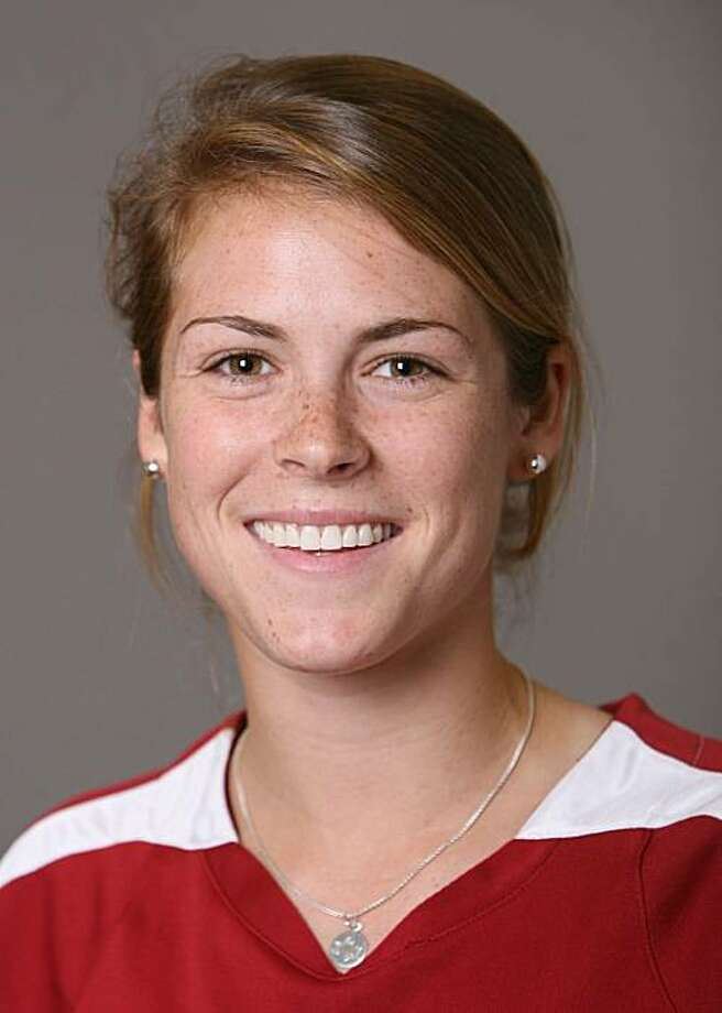 STANFORD, CA - AUGUST 7: Kelley O'Hara of the Stanford Cardinal women's soccer team poses for a headshot on August 7, 2008 in Stanford, California. Photo: David Gonzales, Stanford Athletics