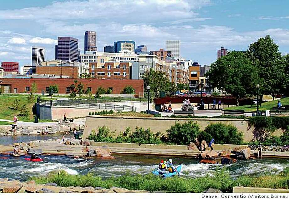 Let's get down to weather basics. Denver boasts about 300 days of sunshine. And it has what most of the country considers real weather: snow, thunderstorms. And you know where this is going. Photo: Denver ConventionVisitors Bureau, Denver Metro Convention & Visito