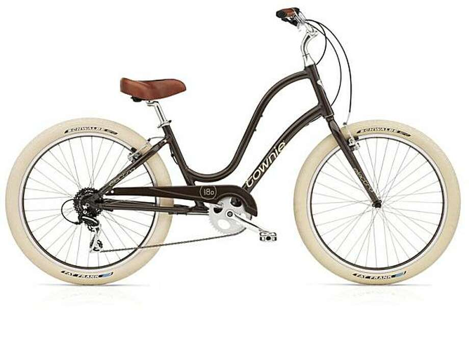 Gifts to indulge an urge to splurge may include this Townie Balloon 8D women's bicycle in coffee, $629.99, at kozy.com. (Mark Clifford/Chicago Tribune/MCT) Photo: Mark Clifford, MCT
