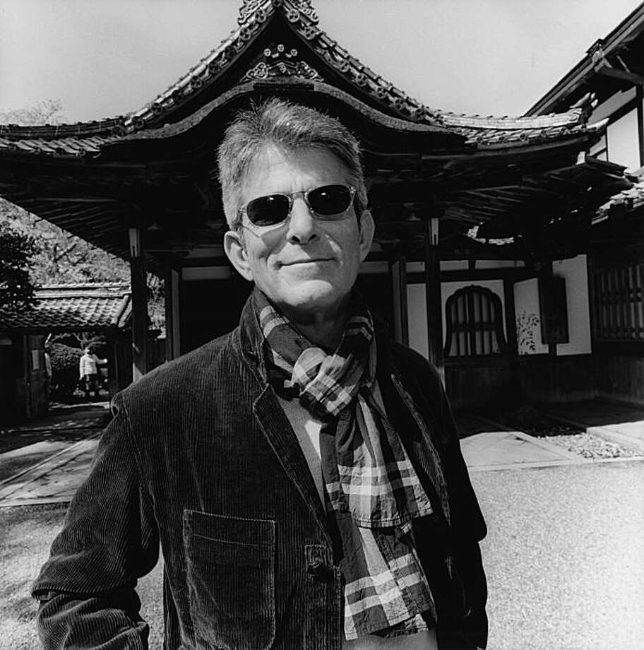 """Jeffrey Fraenkel, Japan"" (2008) gelatin silver print by Lee Friedlander   copyright 2009 by Lee Friedlander Photo: Lee Friedlander, Fraenkel Gallery, S.F."
