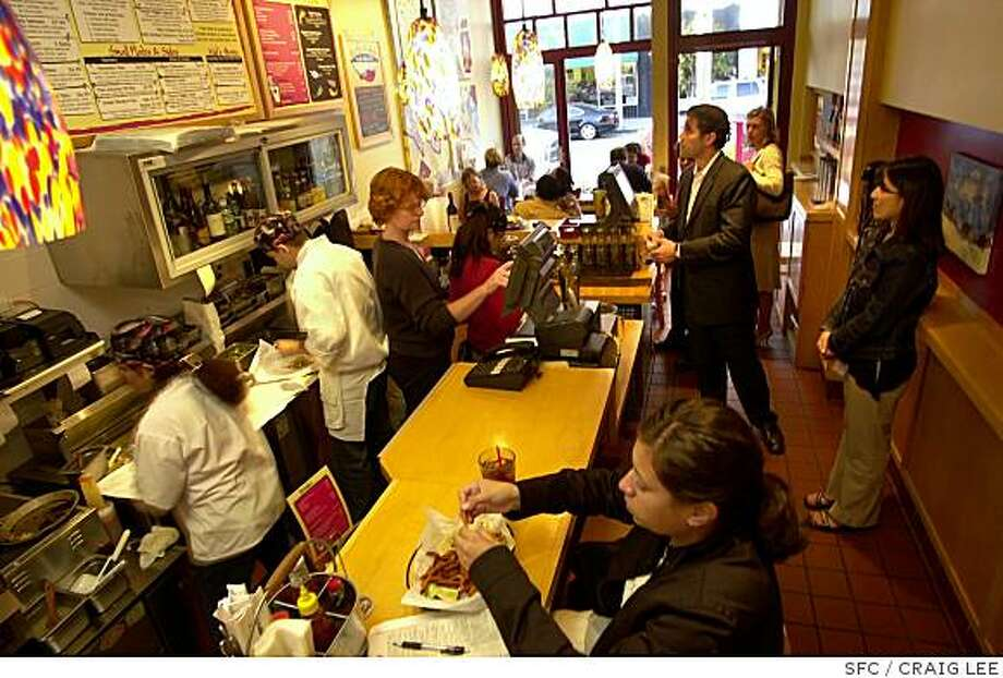 Pacific Catch Fresh Fish Grill, 2027 Chestnut Street in San Francisco is a small restaurant that cooks fish to order. The menu features elements fo Asian and Mexican cuisines. Photo: CRAIG LEE, SFC