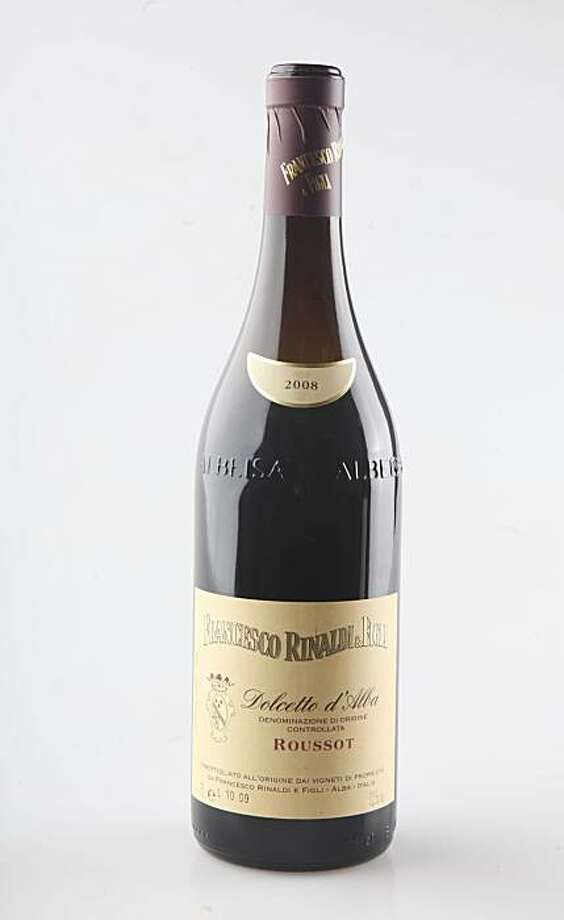 A bottle of  2008 Francesco Rinaldi was photographed in the SF Chronicle studio on Wednesday, Dec. 30, 2009 in San Francisco, Calf. Photo: Mike Kepka, The Chronicle