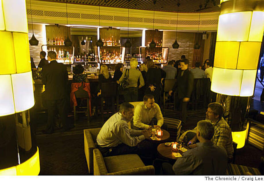 The Clock Bar opening night in the St. Francis Hotel in San Francisco, Calif., on July 15, 2008. Photo by Craig Lee / The Chronicle Photo: Craig Lee, The Chronicle
