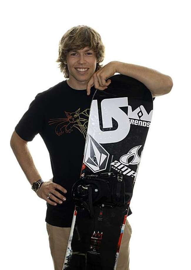 In this photo taken on Sept. 11, 2009, halfpipe snowboarding competitor Kevin Pearce poses for a portrait during the USOC Media Summit in Chicago. A publicist for  Pearce says the American snowboarder remains in critical condition at a Utah hospital after sustaining a head injury while training in Park City on Thursday, Dec. 31, 2009.  (AP Photo/Charles Rex Arbogast) Photo: Charles Rex Arbogast, AP