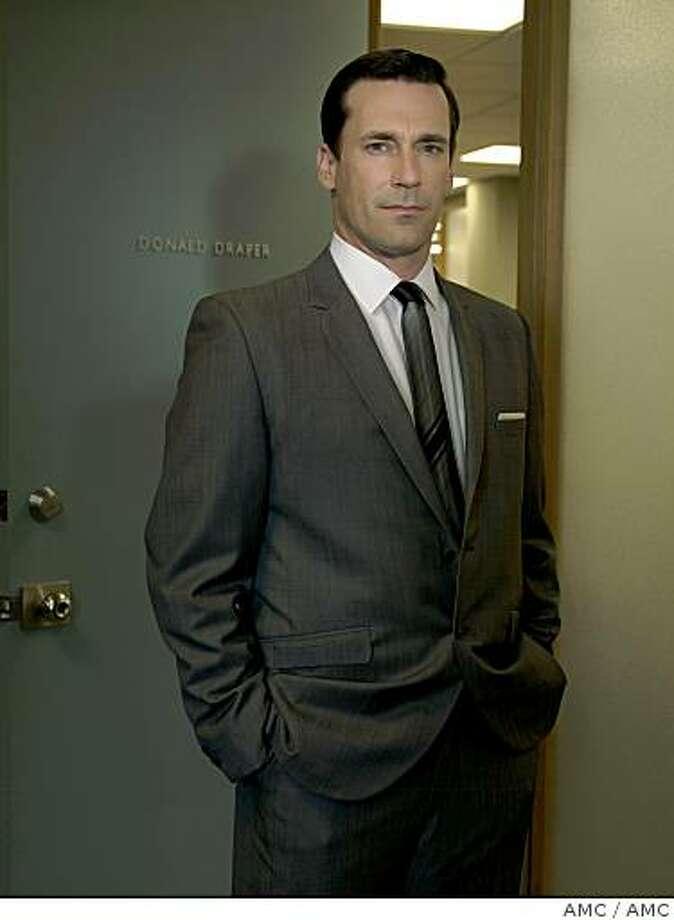 Mad Men on AMC, Jon Hann as Don Draper Photo: AMC