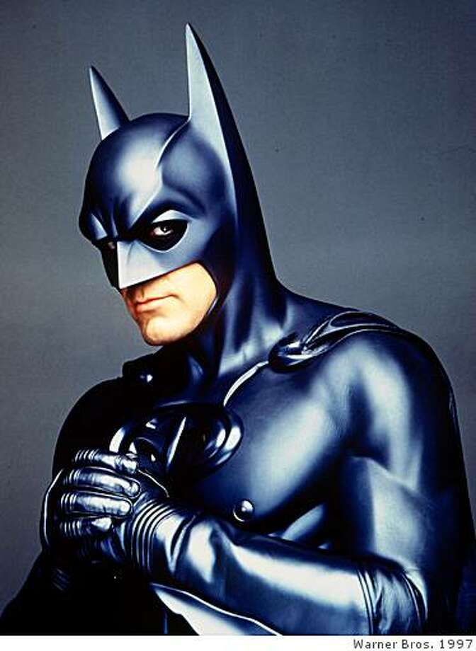 George Clooney as Batman Photo: Warner Bros. 1997