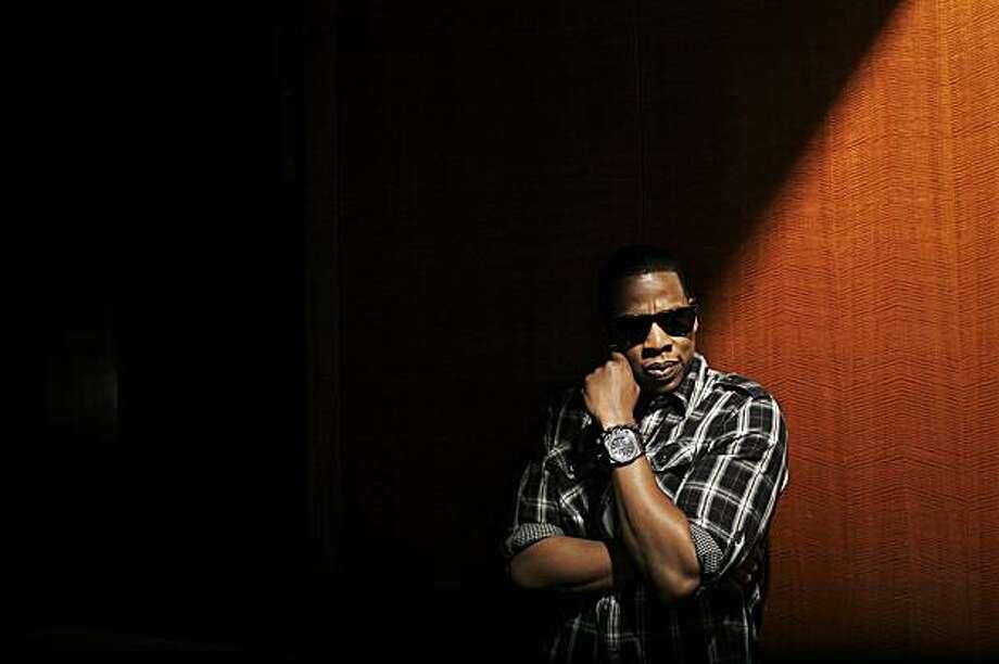 Hip-hop mogul Jay-Z in New York on Aug. 31, 2009. (Damon Winter/The New York Times) Photo: Damon Winter, NYT