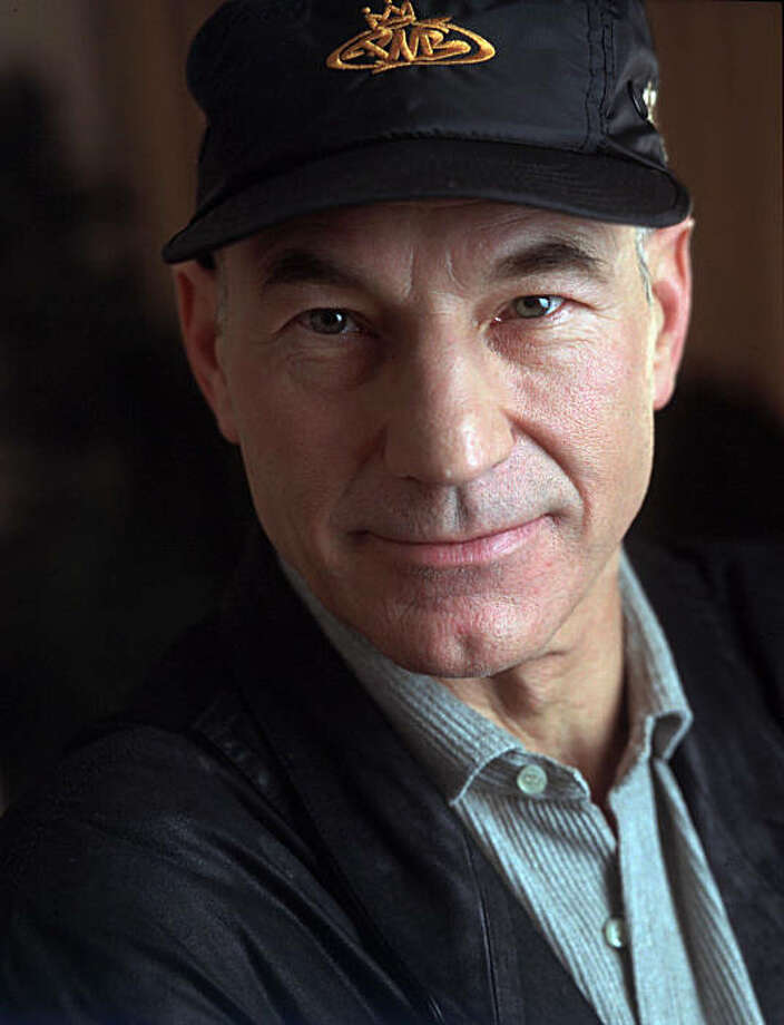 "ADVANCE FOR WEEKEND EDITIONS, DEC. 23-25--Patrick Stewart, the British actor who is Capt. Picard in the ""Star Trek"" film and television series, poses for a portrait during a visit to New York, Nov. 13, 1994. The 54-year-old star came to his space-age role from a theatrical background, as a member of Britain's Royal Shakespeare Company. (AP Photo/Wyatt Counts) Photo: Wyatt Counts, AP"