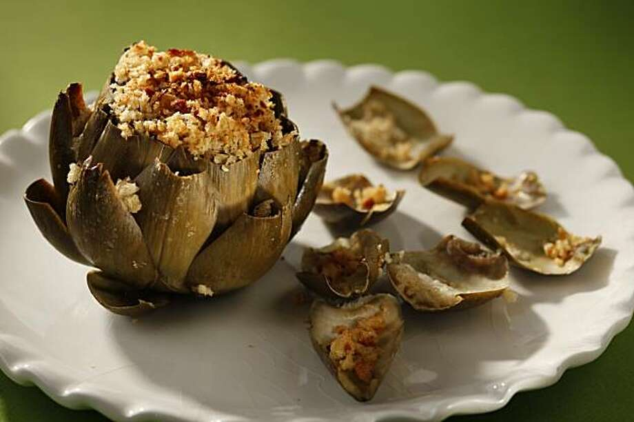 Stuffed Artichokes in San Francisco, Calif., on December 16, 2009. Food styled by Kalena Ross. Photo: Craig Lee, Special To The Chronicle