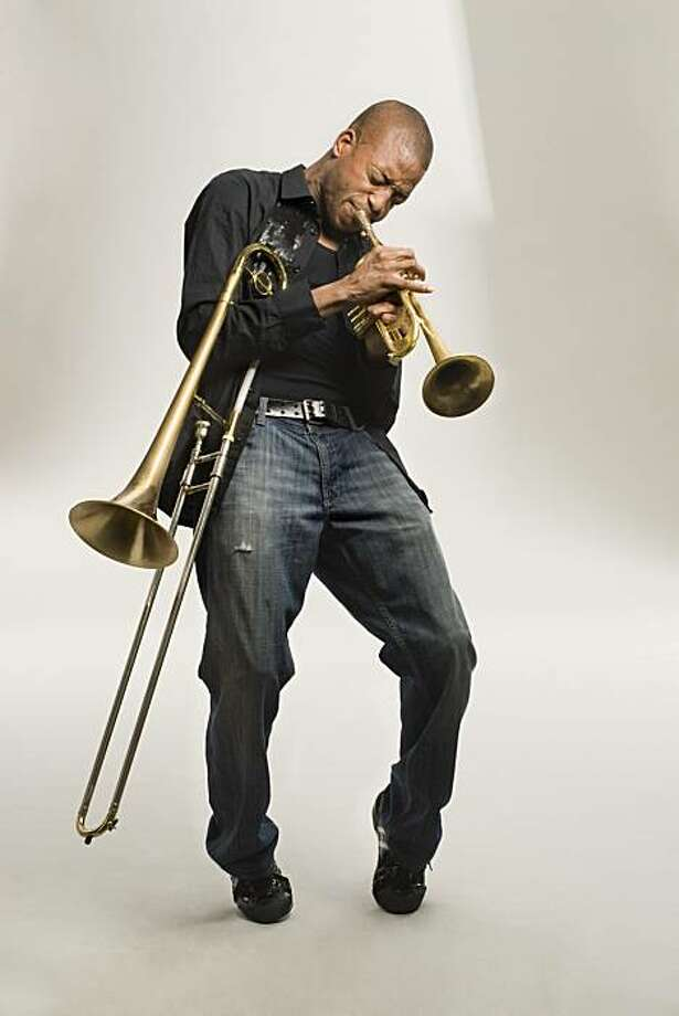 Trombone Shorty will play Dec. 30-31 at the Independent in San Francisco. Photo: Tromboneshorty.com
