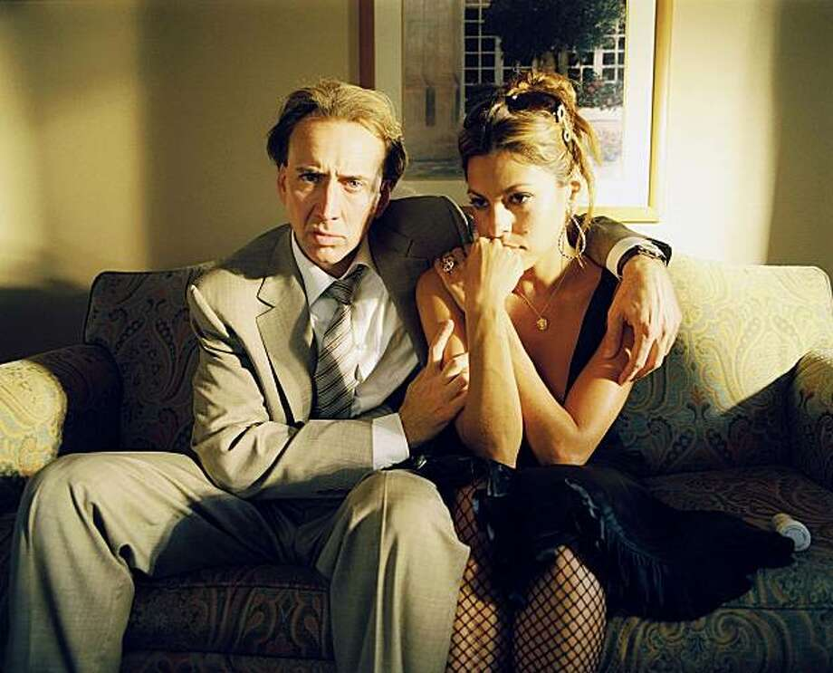 Nicolas Cage and Eva Mendes in BAD LIEUTENANT: PORT OF CALL NEW ORLEANS Photo: Outnow.com