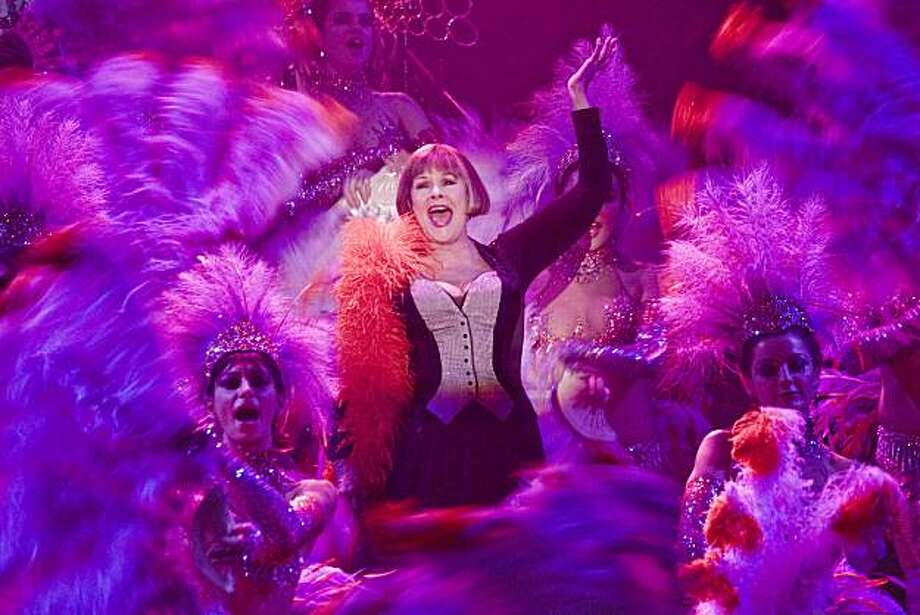 "Photo Caption: Lilli (Judi Dench) and Showgirls perform ""Folies BergŽre"" (musical number) in Rob Marshall's NINE.  Photo by:  David James © 2009 The Weinstein Co. Photo: David James, Weinstein Co."