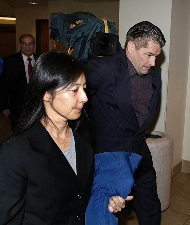 "Richard and Mayumi Heene arrive at court for sentencing on Wednesday in Fort Collins, Colo., in connection with the ""Balloon Boy"" hoax.  Richard and Mayumi Heene  pleaded guilty to charges that they carried out the stunt in October to promote a reality TV show. Photo: Ed Andrieski, Associated Press"
