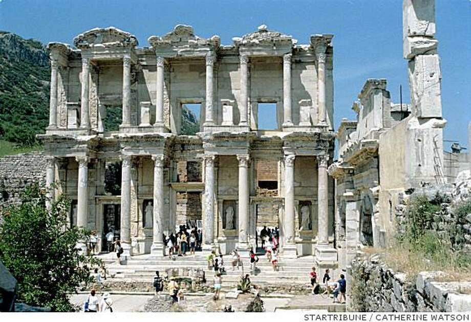 The Library of Celsus is in Ephesus, Turkey. Photo: CATHERINE WATSON, STARTRIBUNE