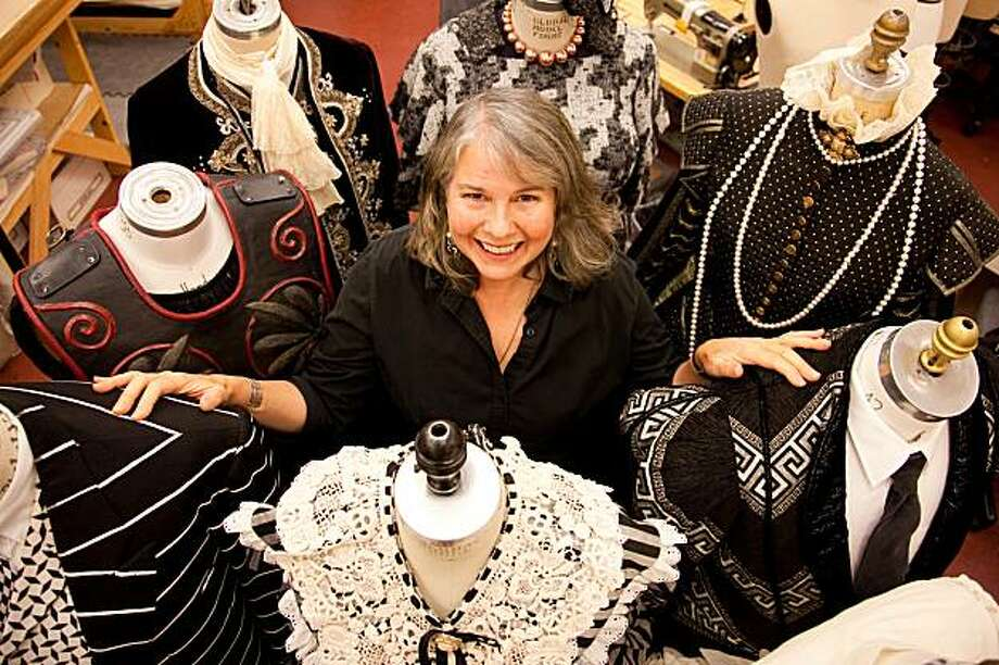 Alameda resident Kitty Muntzel is celebrating 20 years as a draper and cutter in the costume shop at Berkeley Repertory Theatre. Photo: Cheshire Isaacs, Berkeley Repertory Theatre
