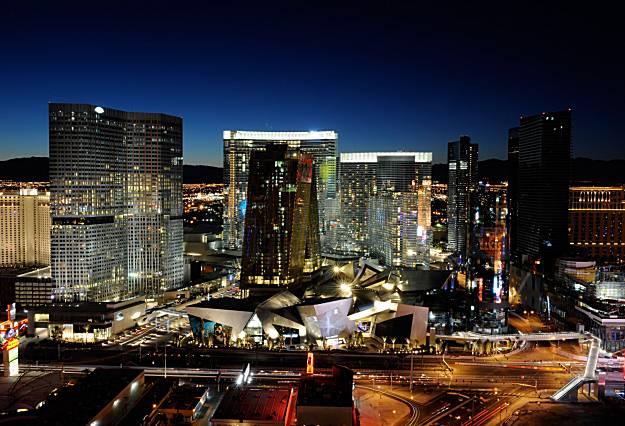 Uber Or Lyft >> CityCenter gives Las Vegas a huge twist - SFGate