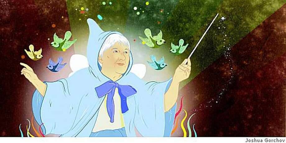 Karen Lassen organized the Fairy Godmother Society, which gives small grants to local organizations. (illustration)
