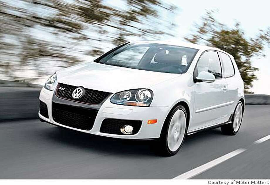 The most popular paint color among car consumers is white, such as the 2008 Volkswagen GTI in Candy White Photo: Courtesy Of Motor Matters