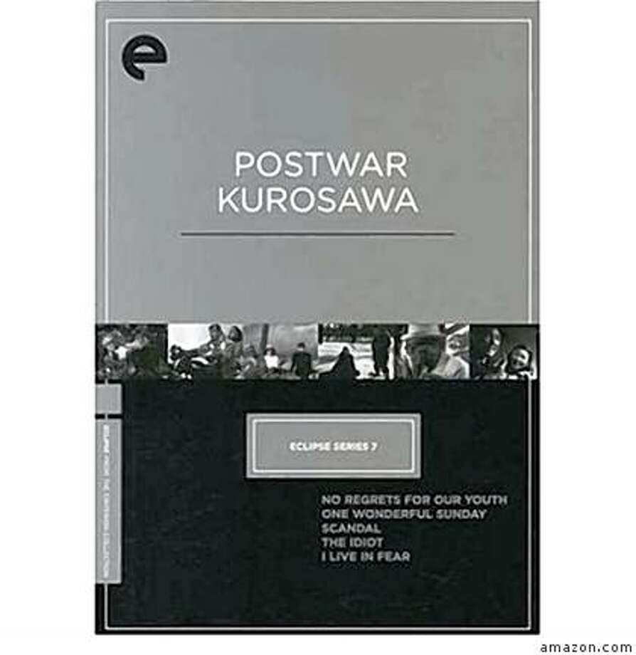 dvd cover POSTWAR KUROSAWA film collection Photo: Amazon.com