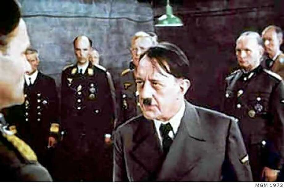 "Alec Guinness in ""Hitler: The Last Ten Days"" 1973. Photo: MGM 1973"