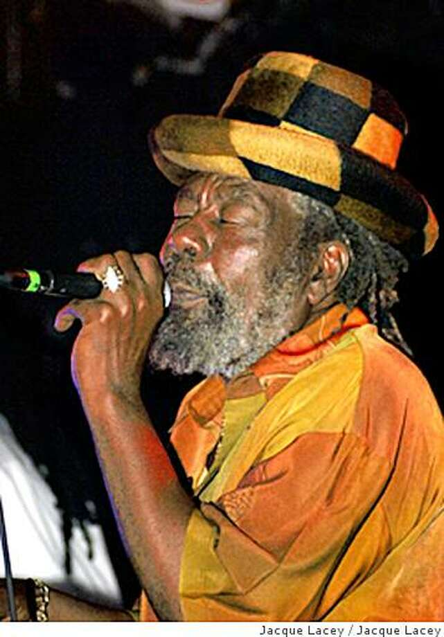 Reggae musician U-Roy plays the Down Low in Berkeley