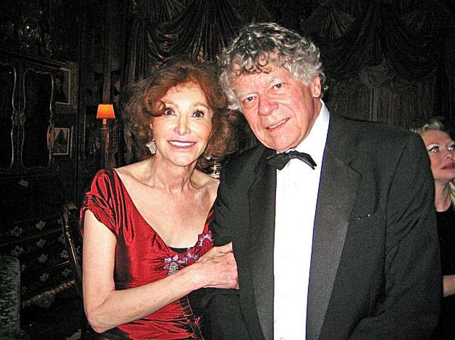 Ann and Gordon Getty at the birthday party she hosted in her husband's honor on December 12, 2009 Photo: Catherine Bigelow, Special To The Chronicle