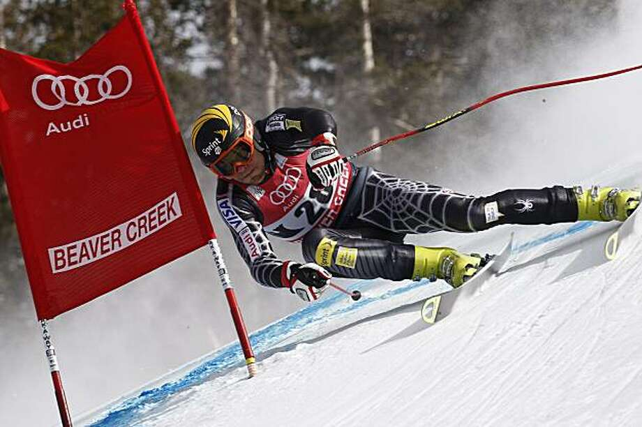BEAVER CREEK, CO -DECEMBER 5:  (FRANCE OUT) Steven Nyman of the USA takes 31th place during the Audi FIS Alpine Ski World Cup Men's Downhill on December 5, 2009 in Beaver Creek, Colorado.  (Photo by Francis Bompard/Agence Zoom/Getty Images) Photo: Francis Bompard/Agence Zoom, Getty Images