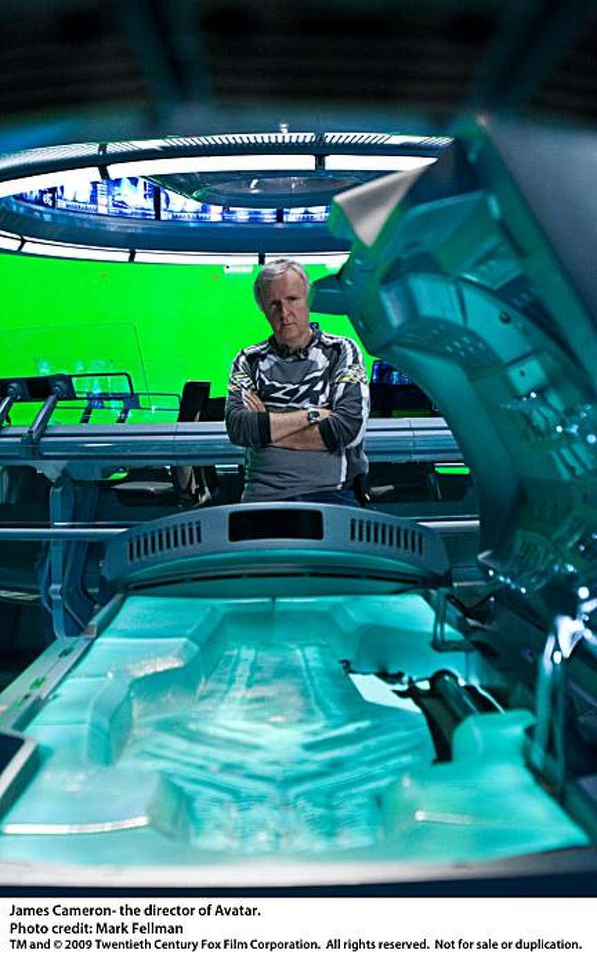 James Cameron, director of