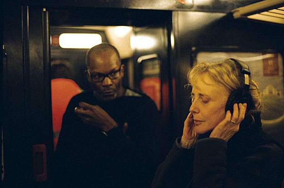 """35 Shots of Rum"" director Claire Denis on the set.  Director: Claire Denis Photo: The Cinema Guild"
