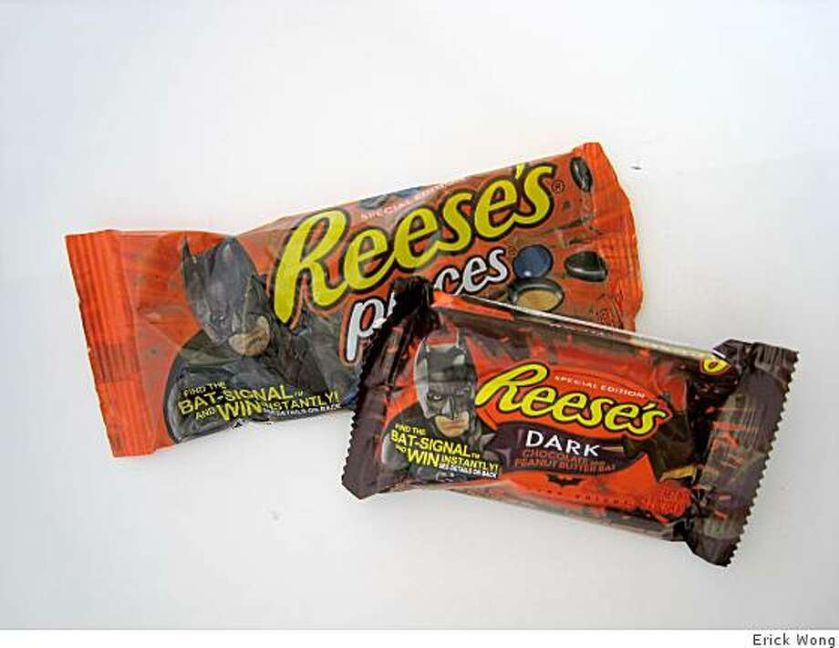 Special Batman-themed Reese's products timed to the release of The Dark Knight. Photo: Erick Wong