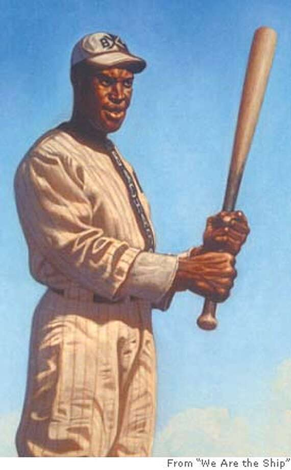 "From ""We Are the Ship: The Story of Negro League Baseball"" by Kadir Nelson"