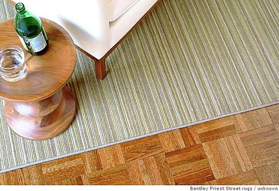 Scan rug from Bentley Priest Street rugs Photo: Unknown, Bentley Priest Street Rugs
