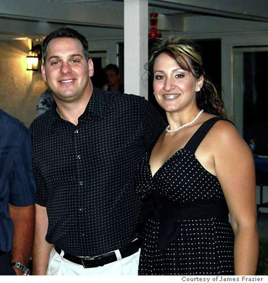 Janet and James Frazier (left) with their friends Erik and Tanya Nunn. Erik, a Contra Costa County supervisor's candidate, and his wife, Tanya, were presumed dead following a plane crash near Las Vegas. Photo: Photo Courtesy Of James Frazier