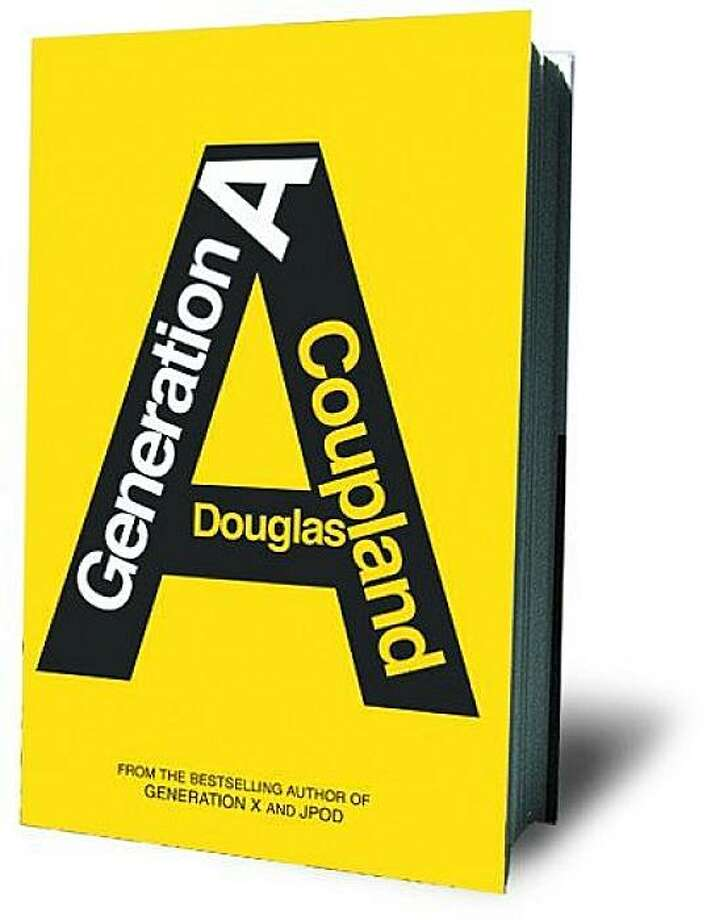 "cover of ""Generation A"" by Douglas Coupland Photo: Scribner"
