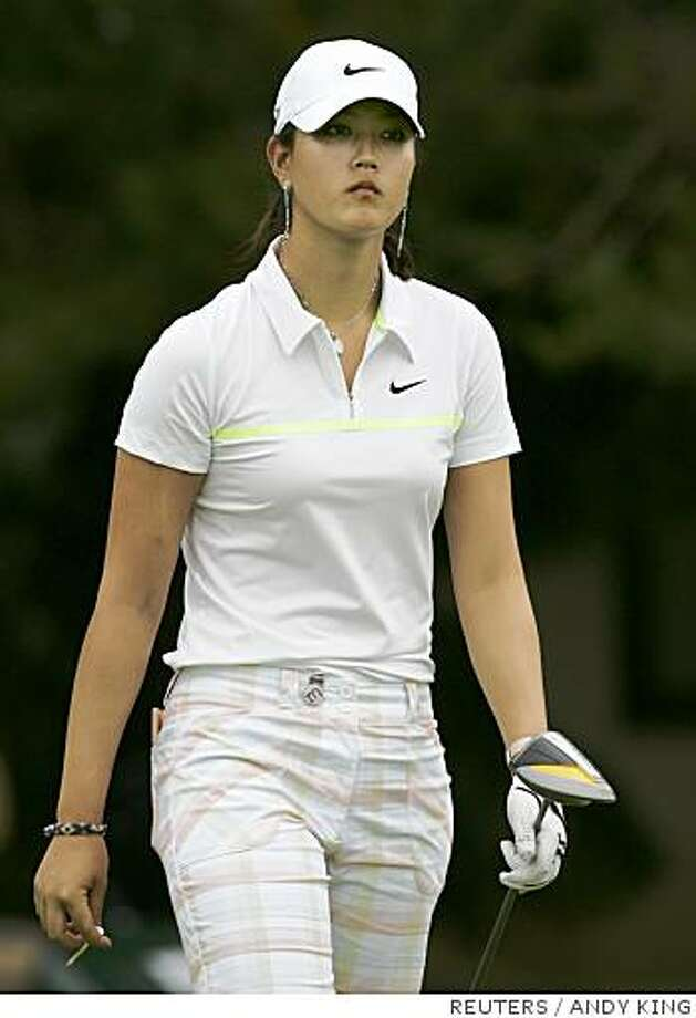 Michelle Wie competes at the U.S. Womens Open Championship at the Interlachen Country Club in Edina, Minnesota June 26, 2008.    REUTERS/Andy King (UNITED STATES) Photo: ANDY KING, REUTERS