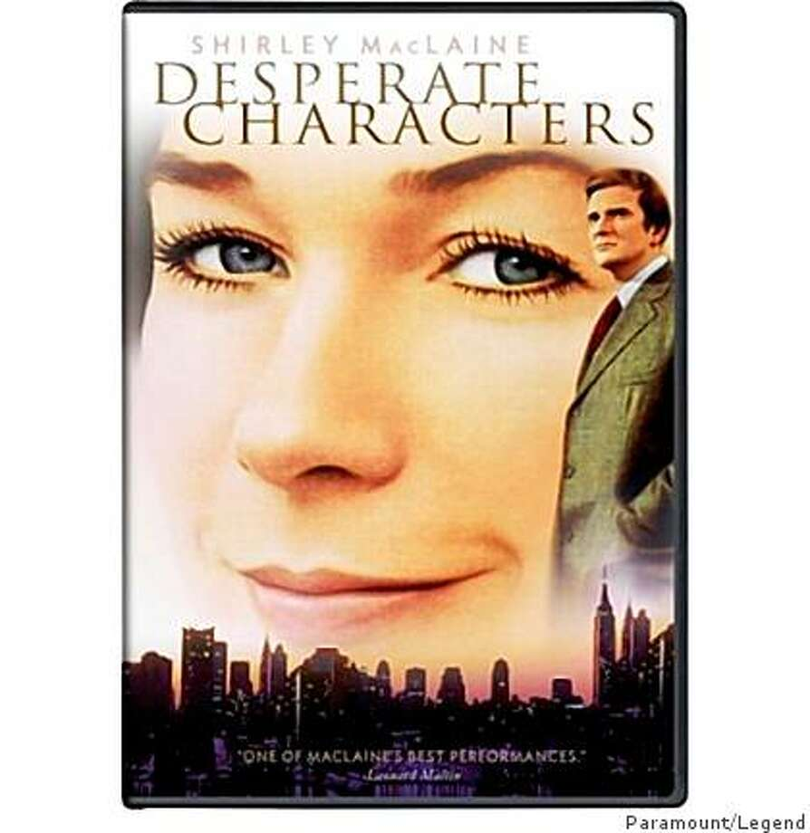 dvd cover: Desperate Characters Photo: Paramount/Legend