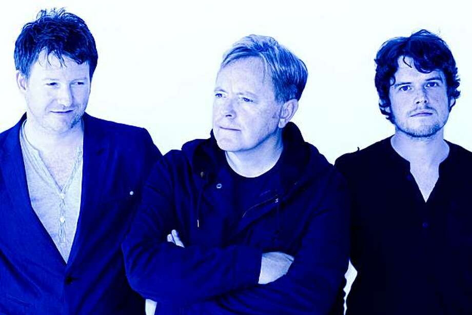 Bad Lieutenant's Bernard Sumner (middle) is not exactly shedding tears over his former band's demise. LEFT TO RIGHT:  Phil Cunningham, Bernard Sumner, Jake Evans Photo: Joel Chester Fildes
