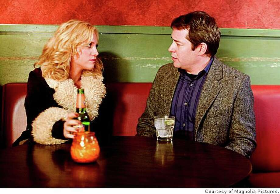 "Brittany Snow and Matthew Broderick play two people who can't kick their unhealthy lifestyles in Peter Tolan's comedy ""Finding Amanda,"" opening Friday June 27 in Bay Area theaters.Photo courtesy of Magnolia Pictures. Photo: Courtesy Of Magnolia Pictures."
