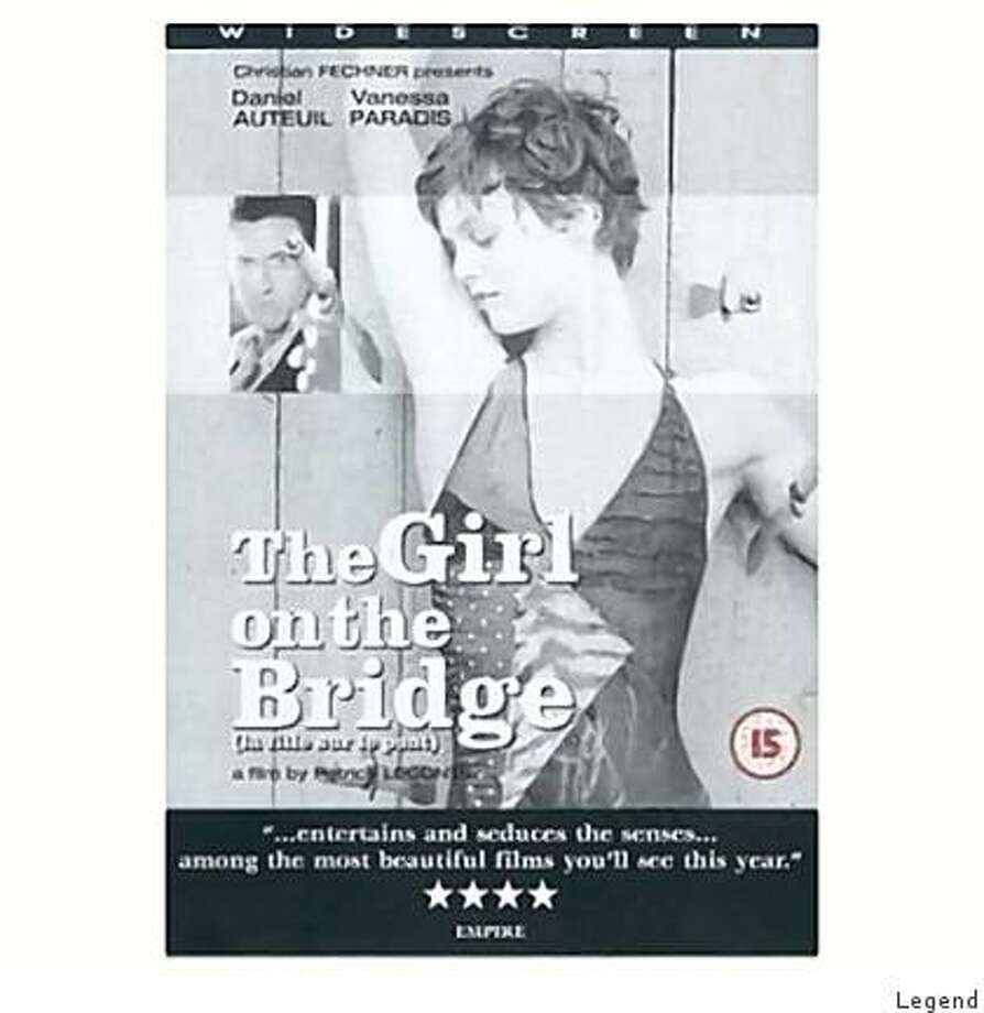 DVD cover: Girl on the Bridge Photo: Legend