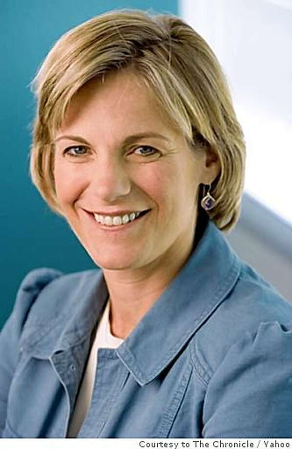 Yahoo president Sue Decker. Courtesy of Yahoo Photo: Yahoo, Courtesy To The Chronicle