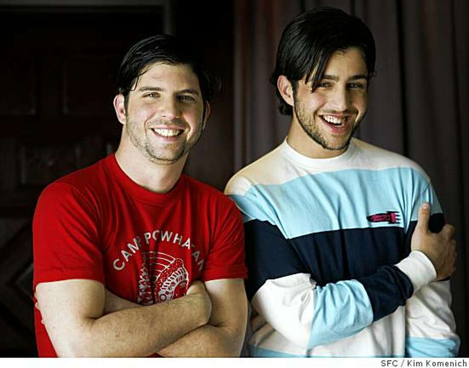 """Wackness"" director Jonathan Levine and actor Josh Beck are photographed at the Clift Hotel in San Francisco, Calif., on Saturday, May 3, 2008.                                                                                                                                                                                                                                                                                                                                                                                                                                                                                                                                                                                                                                                                                                                                                                                                                                                                                                                                                                                                                                                                                                                                Photo by Kim Komenich / San Francisco Chronicle Photo: Kim Komenich, SFC"